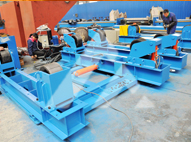 Fit-Up Roller Bed/Fit Up Rotator